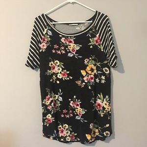 [First Look] Floral Baseball Tee